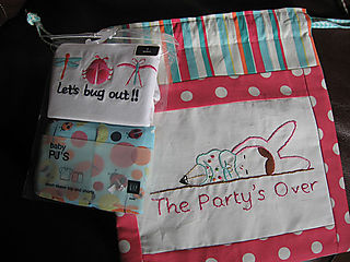 Party's Over Pajama Bag