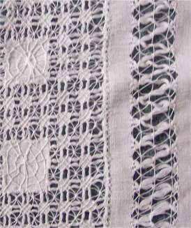 Whitework-embroidery