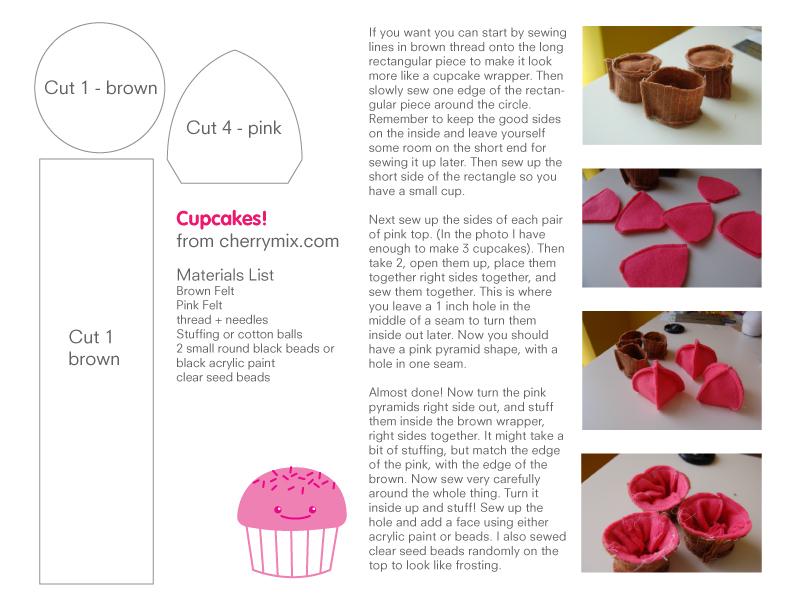 Cupcakepattern